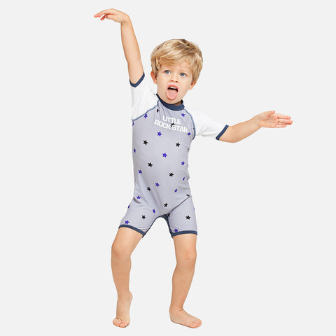 Boys Little Rock Star UV Sunsuit