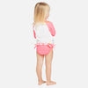 Kids uv swimwear bikini