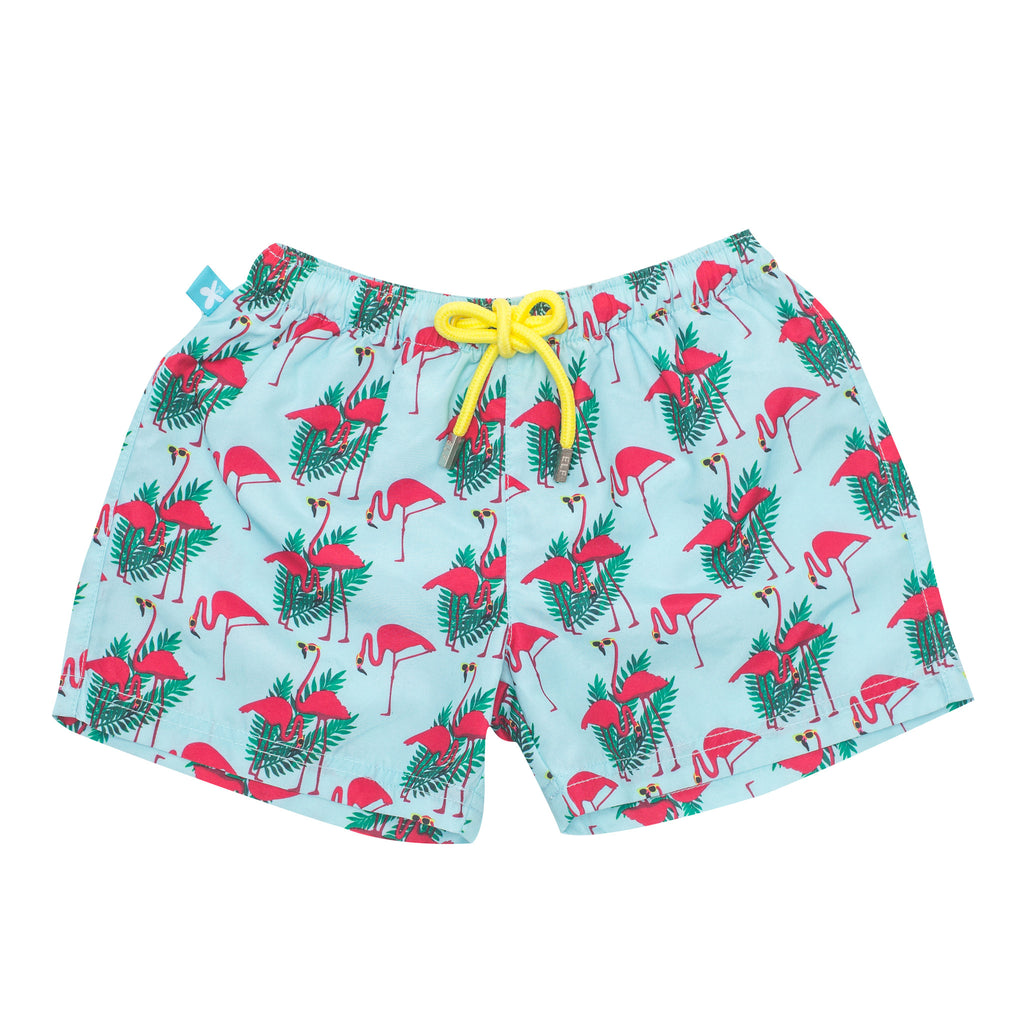 Flamingo Adult UV Swim Short
