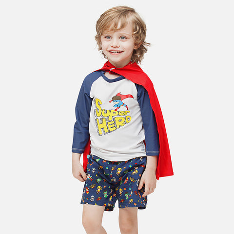 Boys Super Hero UV Swim Short