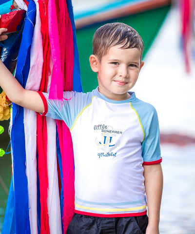 Boys Little Matelot UV Rash Vest