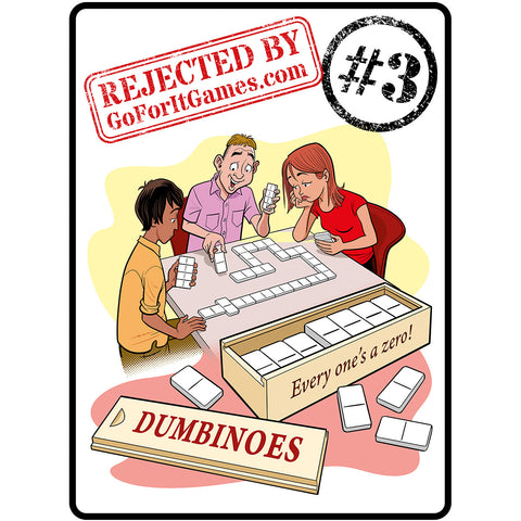 Dumbinoes game - dominoes game fail