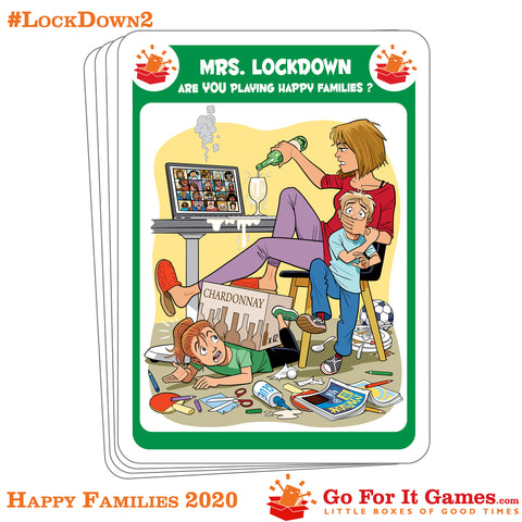 Lockdown 2 - Playing Happy Families