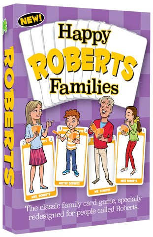 Happy Families Card Game Box