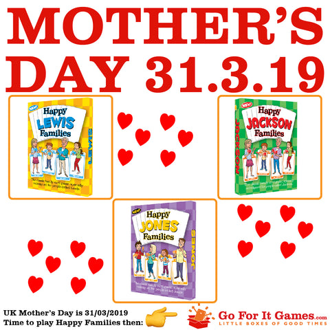 Mother's Day games ideas fun from GoForItGames.com