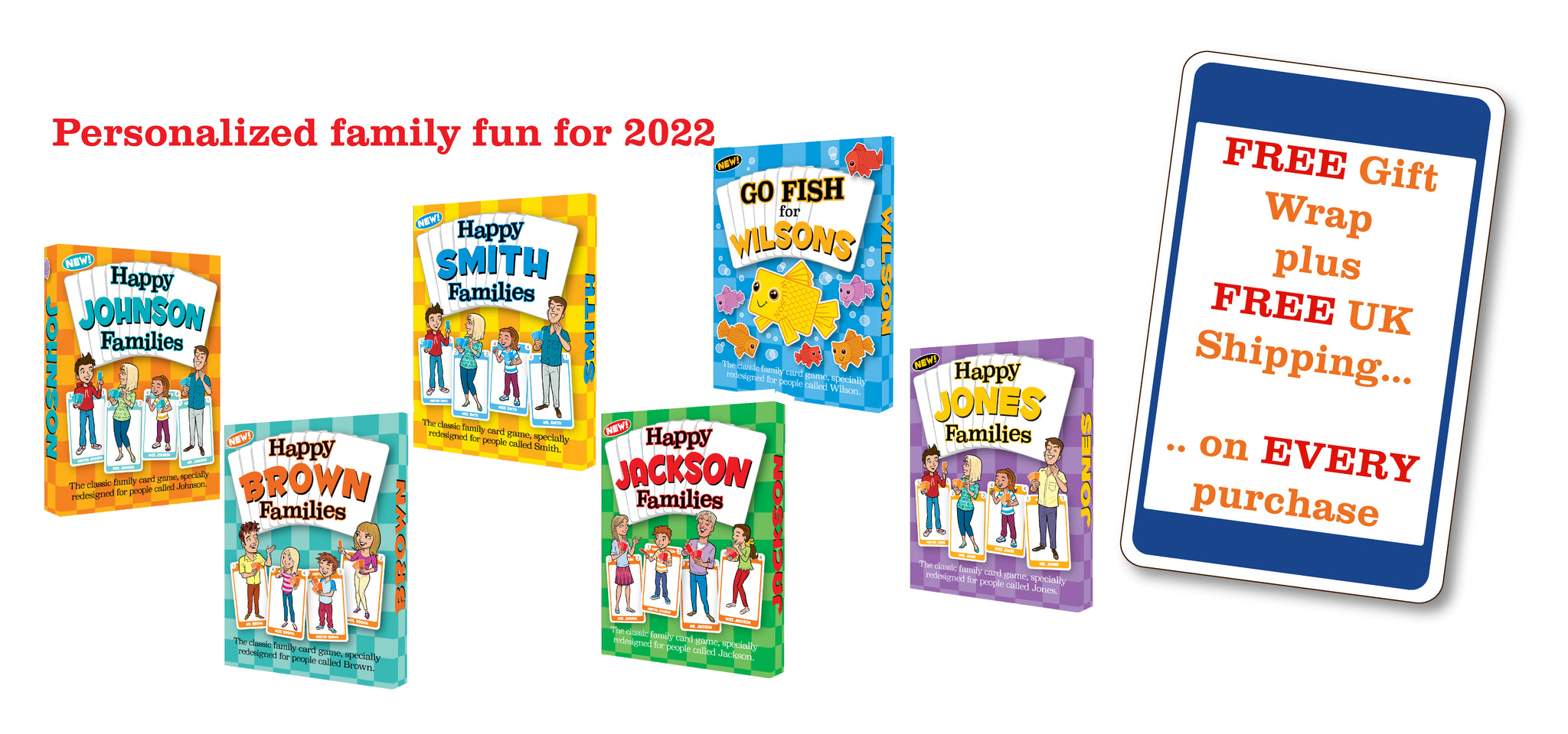 The New Happy Families  Games