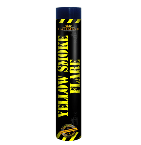 1 X YELLOW SMOKE GRENADE/FLARE