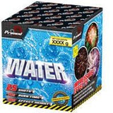 PRIMED PYRO - WATER - 25 SHOTS - 1.3G LOUD - MULTIBUY 2 FOR £60