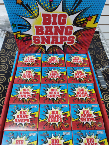 BIG BANG LARGE THROW DOWN SNAPS BANGERS VERY LOUD 15 IN A BOX