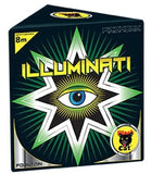 BLACK CAT - ILLUMINATI FOUNTAIN - 120 SECONDS DURATION - MULTI BUY 2 FOR £20