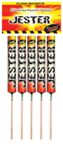 STANDARD FIREWORKS - JESTER SMALL BUT POWERFUL ROCKETS 1.3G