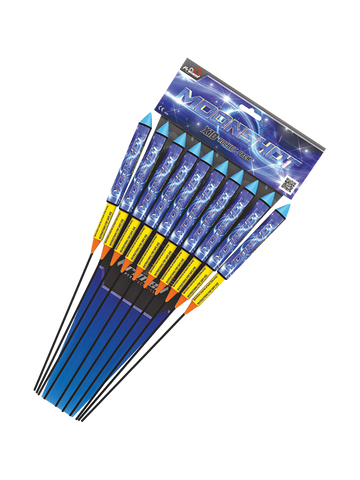 PRIMED PYRO - MOONSHOT ROCKETS 1.3G (10 PACK) - MULTIBUY DEALS