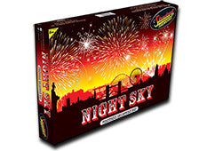 STANDARD FIREWORKS - NIGHT SKY - 15 PIECE SELECTION BOX