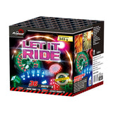 PRIMED PYRO - LET IT RIDE - 36 SHOTS - 1.3G