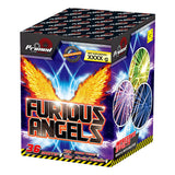 PRIMED PYRO - FURIOUS ANGELS - 36 SHOTS - 1.3G - WHISTLES