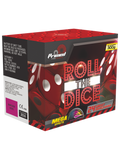 PRIMED PYROTECHNICS - ROLL THE DICE - 24 SHOTS - 1.3G LOUD