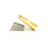 "1 PACKET OF 4"" ROYAL PARTY CAKE SPARKLERS (10 PER PACK) - SILVER"