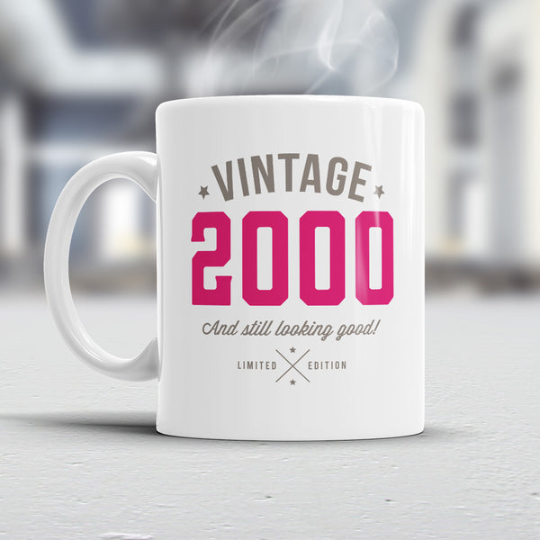 20th Birthday, 2000 Birthday, 20th Birthday Gift, 20th Birthday Idea, Pink Vintage, 2000, Happy Birthday, 20th Birthday Gift for 20 year old