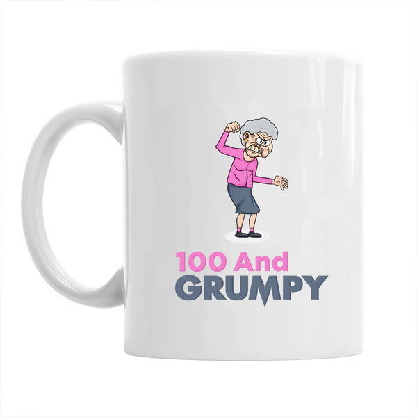 100th Birthday,  Coffee Mug, Birthday, 100th Birthday Gift, 100th Birthday Idea For Women