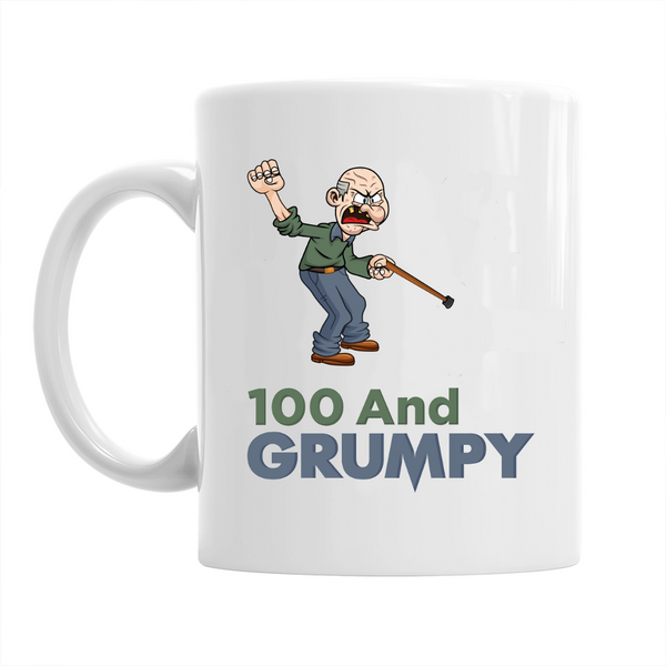 100th Birthday,  Coffee Mug, Birthday, 100th Birthday Gift, 100th Birthday Idea For Men
