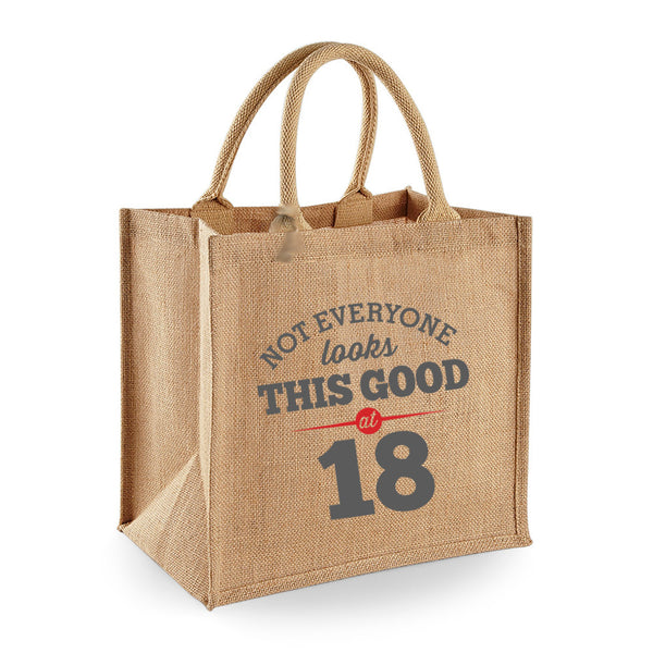 18th Birthday Bag, Gift, Womens Bag, Ladies Shopping Bag, Tote Bag, Birthday Idea, Keepsake