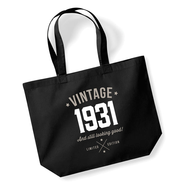90th Birthday, 90th Birthday Idea, 90th Birthday Bag, Tote, Shopping Bag, Great 90th Birthday Present