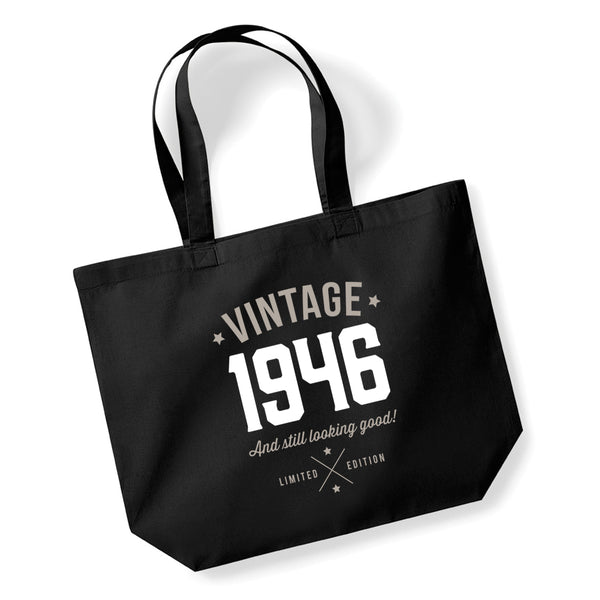 75th Birthday, 75th Birthday Idea, 75th Birthday Bag, Tote, Shopping Bag, Great 75th Birthday Present, 75th Birthday Gift, 1945.