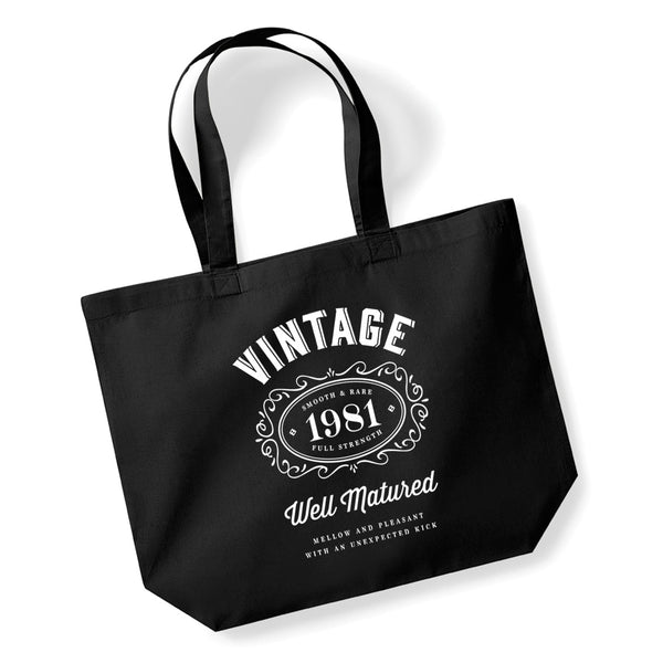 40th Birthday, , Gift Bag, Tote, Shopping Bag 40 Birthday Bag
