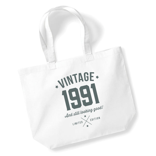 30th Birthday, 30th Birthday Idea, 30th Birthday Bag, Tote, Shopping Bag, Great 30th Birthday Present, 30th Birthday Gift.