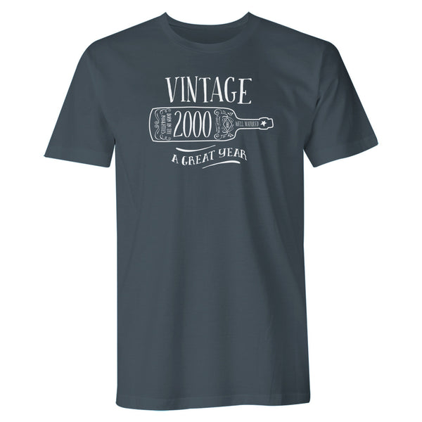 Men's 20th Birthday T Shirt Gift - Vintage Bottle
