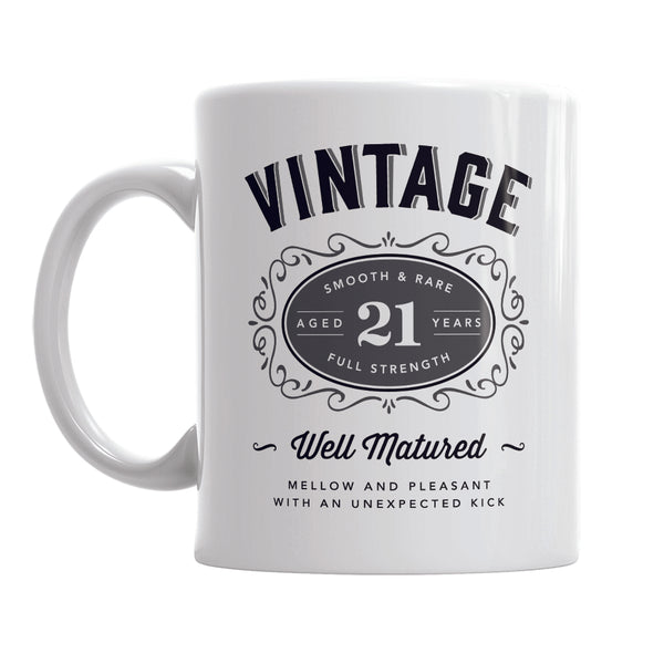 21st Birthday Gift, 21st Birthday, 21st Birthday Idea, Vintage, Bourbon, Happy Birthday, 21st Birthday Present, 21 year old