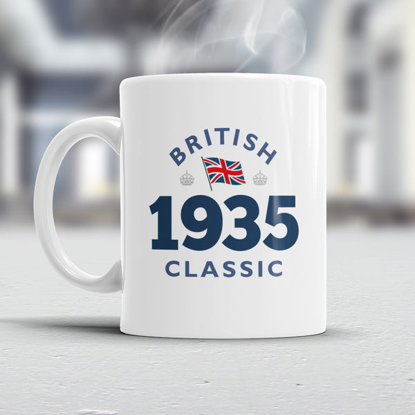 85th Birthday, 1935 Birthday, 85th Birthday Gift, 85th Birthday Idea, British Classic 1935, 85th Birthday Present for 85 year old!