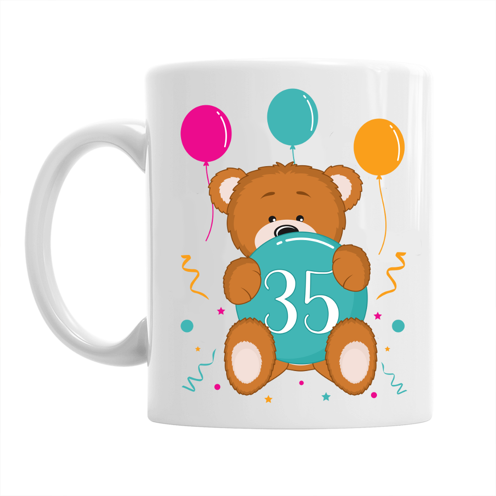 35th Birthday,  Coffee Mug, 1983 Birthday, 35th Birthday Gift, 35th Birthday Idea