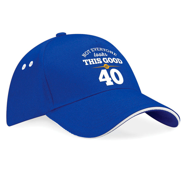 40th Birthday, 1980 Birthday, Gift Idea, Novelty, Funny Baseball Cap, Hat