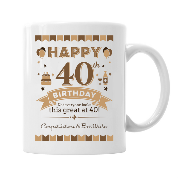 40th Birthday,  Coffee Mug, 1979 Birthday, 40th Birthday Gift, 40th Birthday Idea