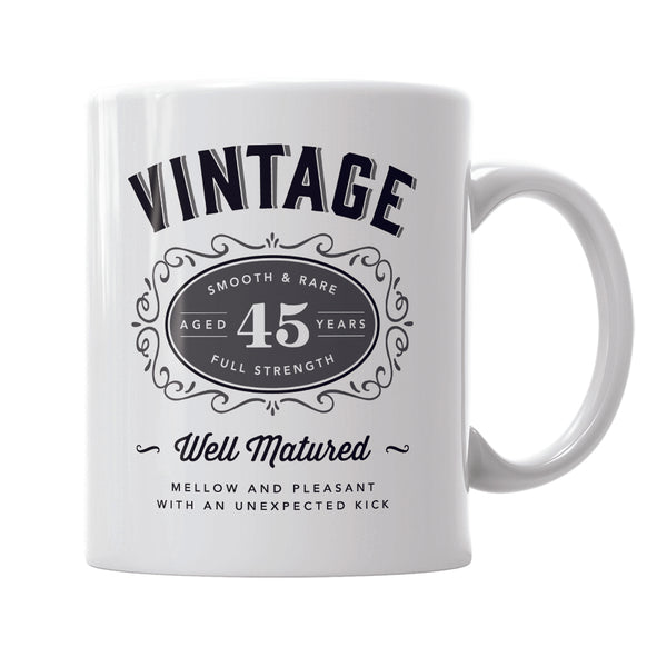 45th Birthday Gift, 45th Birthday, 1975 Birthday, 45th Birthday Idea, Vintage, Bourbon, Happy Birthday, 45th Birthday Present, 45 year old