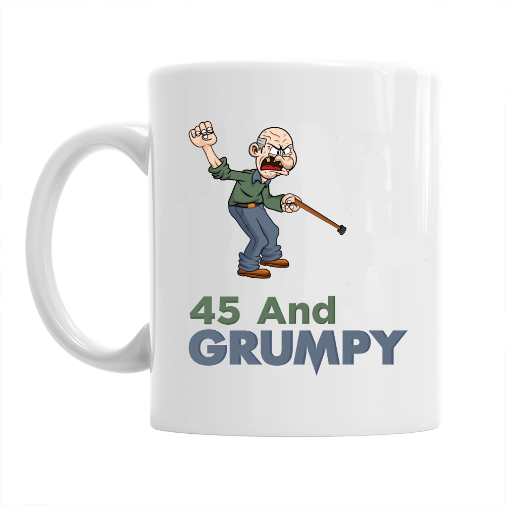45th Birthday,  Coffee Mug, 1973 Birthday, 45th Birthday Gift, 45th Birthday Idea For Men