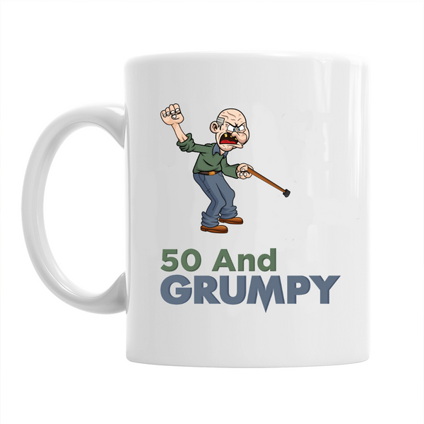 50th Birthday,  Coffee Mug, 1968 Birthday, 50th Birthday Gift, 50th Birthday Idea For Men