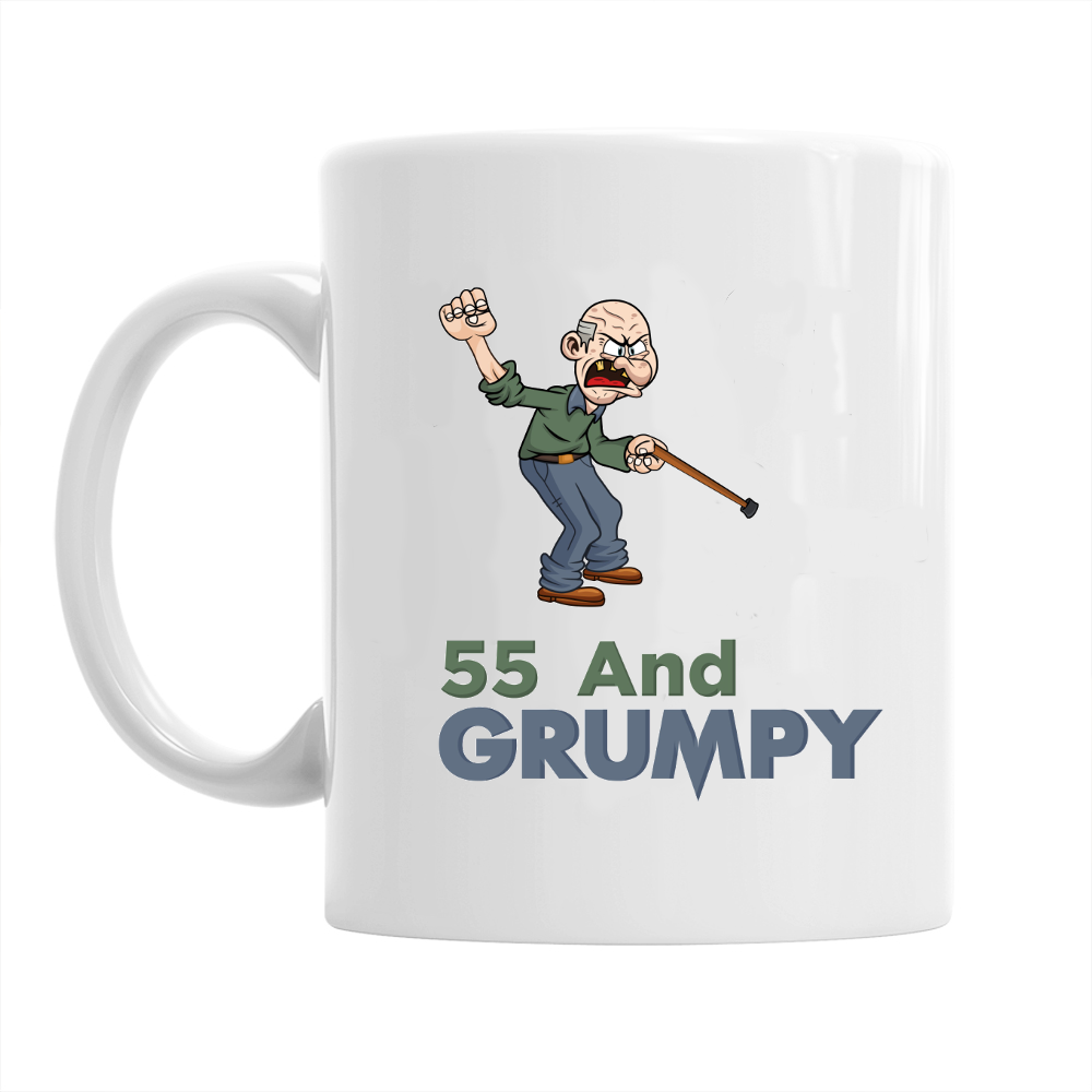55th Birthday,  Coffee Mug, 1963 Birthday, 55th Birthday Gift, 55th Birthday Idea For Men