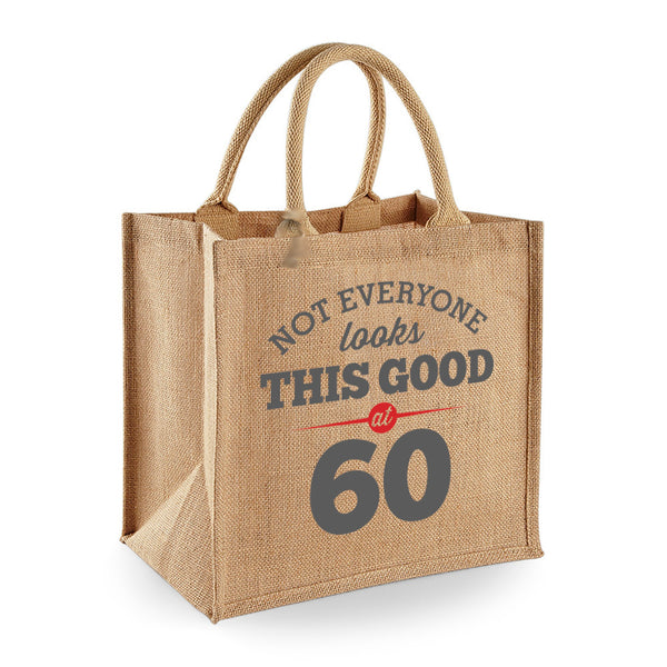 60th Birthday Bag, Gift, Womens Bag, Ladies Shopping Bag, Tote Bag, Birthday Idea, Keepsake