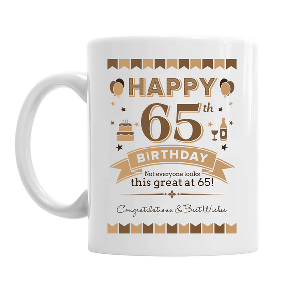 65th Birthday,  Coffee Mug, 1953 Birthday, 65th Birthday Gift, 65th Birthday Idea