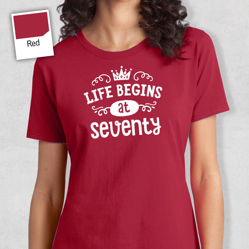 70th Birthday T Shirt Gift Design Invent Print
