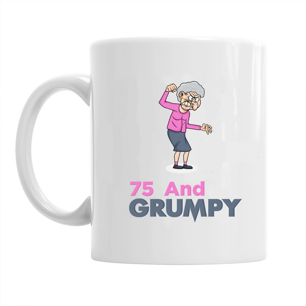 75th Birthday,  Coffee Mug, 75th Birthday Gift, 75th Birthday Idea For Women