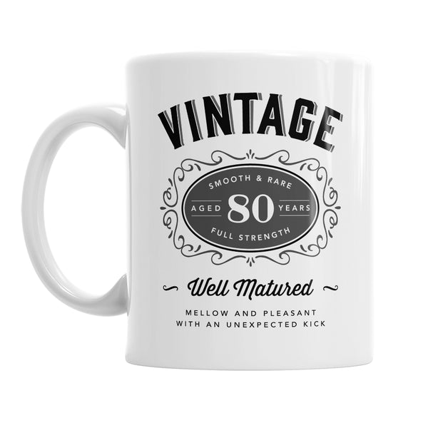 80th Birthday Gift, 80th Birthday, 80th Birthday Idea, Vintage, Bourbon, Happy Birthday, 80th Birthday Present, 80 year old