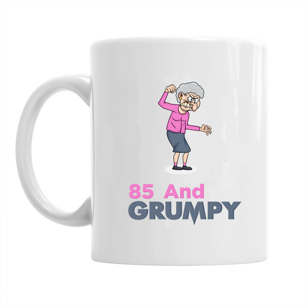 85th Birthday,  Coffee Mug, Birthday, 85th Birthday Gift, 85th Birthday Idea For Women