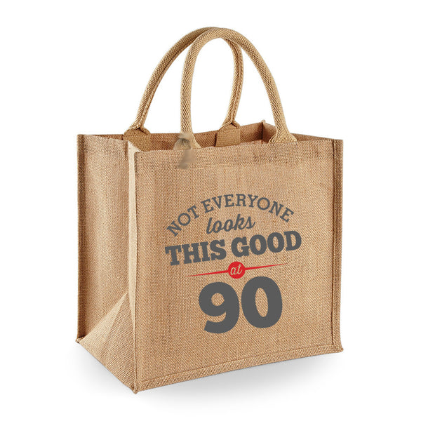 90th Birthday Bag, Gift, Womens Bag, Ladies Shopping Bag, Tote Bag, Birthday Idea, Keepsake