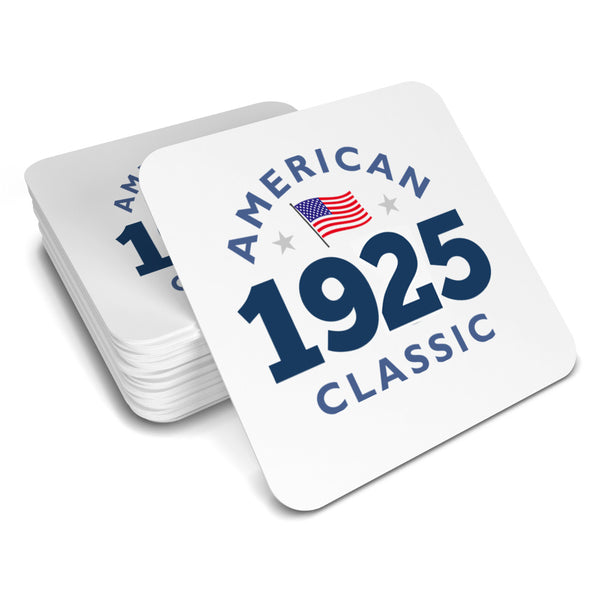 95th Birthday, American Drinks Coaster,  Birthday, 95th Birthday Gift, 95th Birthday Idea