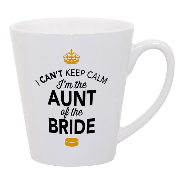 Aunt of The Bride, Wedding Latte Mug, Brides Aunt, Brides Aunt Gift, Brides Aunt, Aunt of the Bride, Brides Aunt Gift, Wedding Gift Ideas