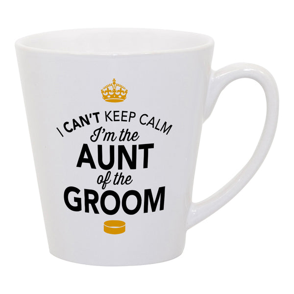 Aunt of The Groom, Latte Wedding Mugs, Grooms Aunt, Grooms Aunt Gift, Grooms Aunt, Aunt of the Groom, Grooms Aunt Gift, Wedding Gift Ideas