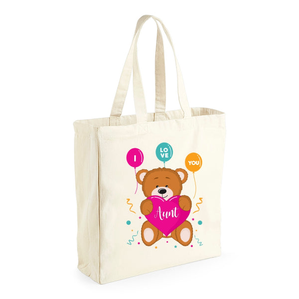 Aunt Gift, Aunt Birthday Bag, Keepsake, Tote, Shopping Bag